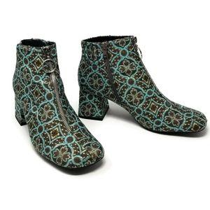 Jeffrey Campbell Bossanova Floral Brocade Boot